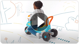 3-in-1 Step & Roll Motorbike™